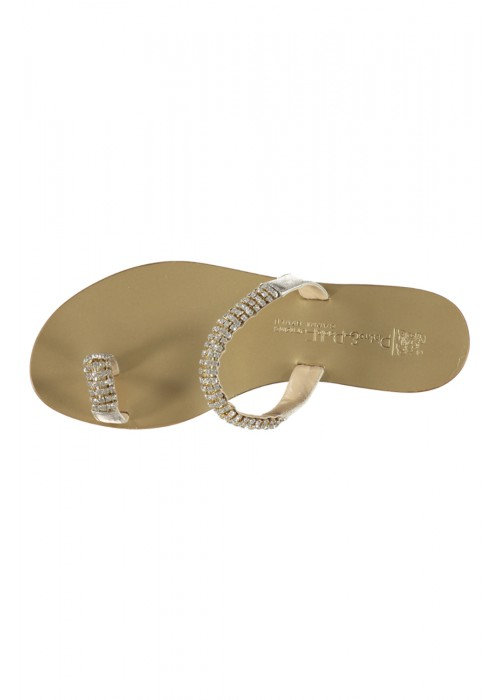 Pietro & Paolo Ferrara - Gold Slip On With Swarovski Detail