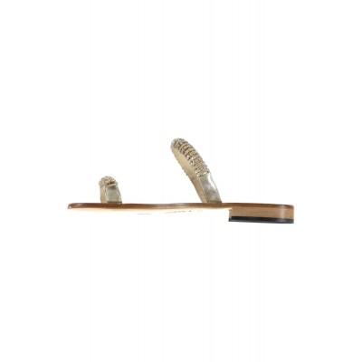 Pietro & Paolo Ferrara - Gold Slip On With Swarovski Detail