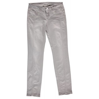 Cambio - Grey Tie Dyed 100% Cotton Stretch Pants