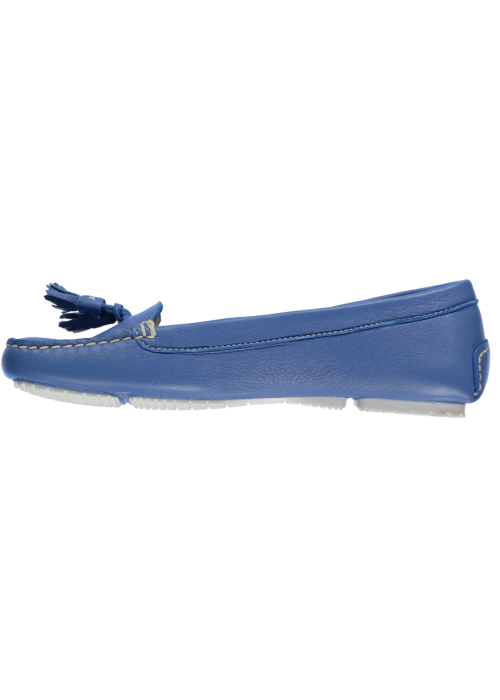 Fratelli Rossetti - Blue Soft Leather Loafer With Tassel Detail