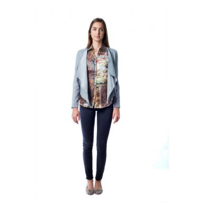 Malvin - Waterfall Leather Jacket