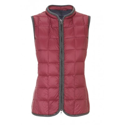 Malvin - Classic Gilet Puffer In Red