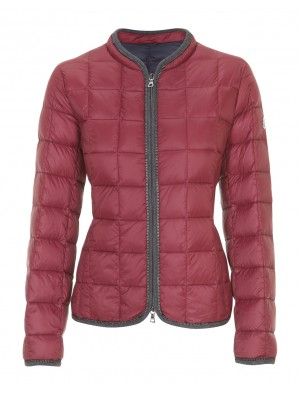 Malvin - Classic Long Sleeve Puffer In Red