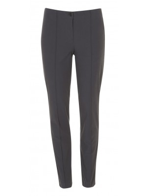 "Cambio - ""Ros"" Grey Classic Cut Trousers"