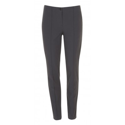 """Cambio - """"Ros"""" Grey Classic Cut Trousers"""