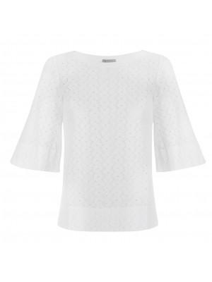 Marella - 'Amerigo' 100% Cotton Bell Sleeve Top