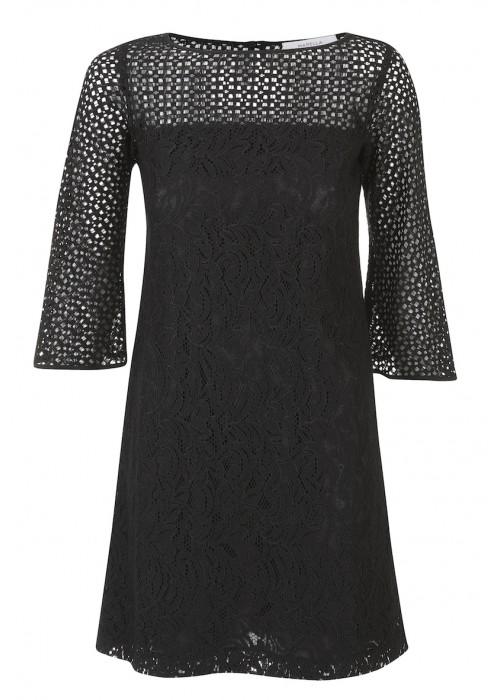 "Marella - ""Prisca"" 3 Quarter Bell Sleeve Cotton Dress"