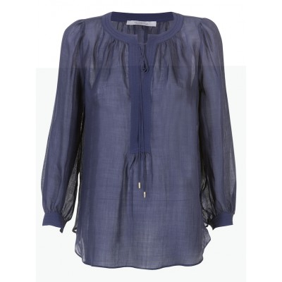 "Marella - ""Sagitta"" Cotton/Wool Tunic With Tie String"