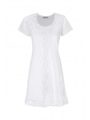 Blitz - 100% Linen 'Babydoll' Dress