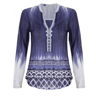 Malvin - 100% Cotton Tunic With Beading Detail