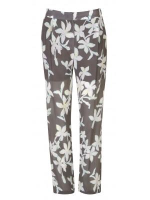 Marella - 'Utopia' 100% Silk Flower Printed Pant