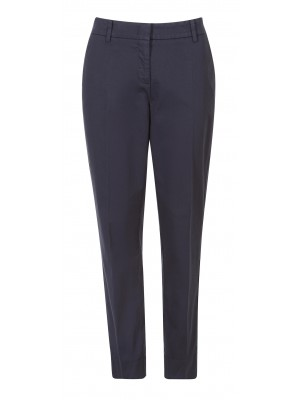 Cambio - 'Stella' Straight Cut Classic Pant In Navy