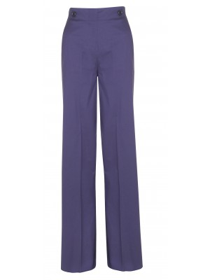 Marella  'Minorca' High Waisted Wide Legged Trousers