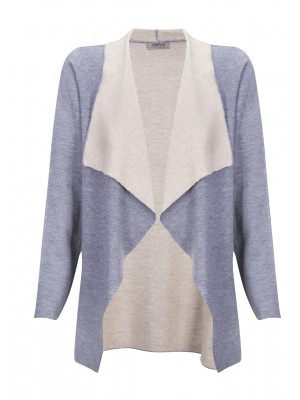 Malvin - Grey Waterfall Knit