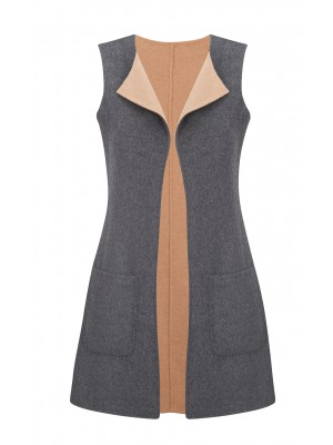 Malvin - Reversible Sleeveless Coat