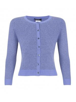 """Odette"" -  Wool/Cashmere Cardigan"
