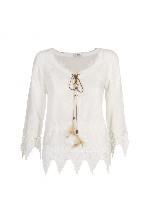 Malvin - Boho Cotton Blouse