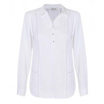 Malvin - Linen Cut - Out Shirt