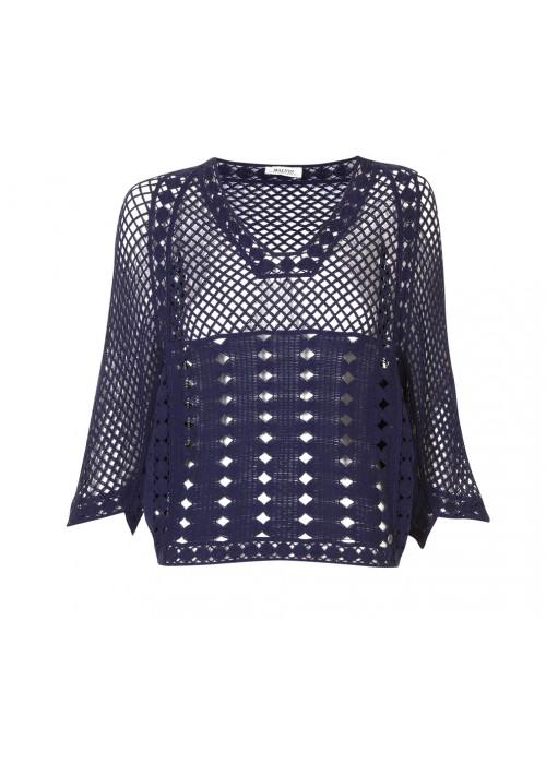 Malvin - Cotton Crochet Top