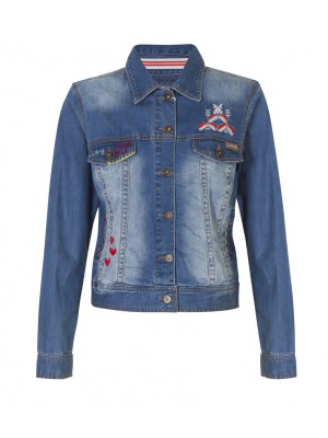 Malvin - Denim Jacket Stitch Detail