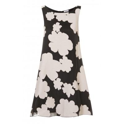 Rossopuro - Cotton/Silk Evening Shift Dress