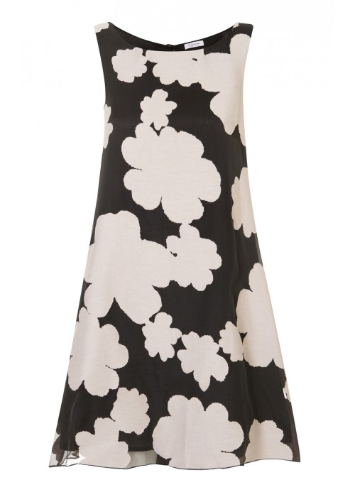 Rossopuro - Cotton/Silk Evening Shift Dress