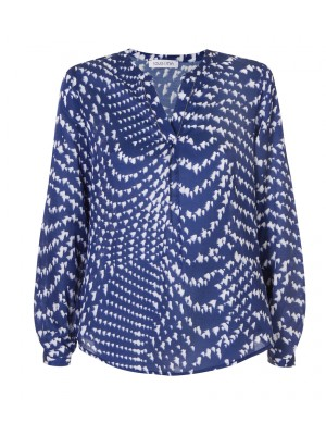 Louis & Mia - Cotton/Silk Splash Print Tunic