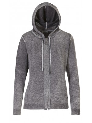 Malvin - 100% Woollen Cardigan With Hood