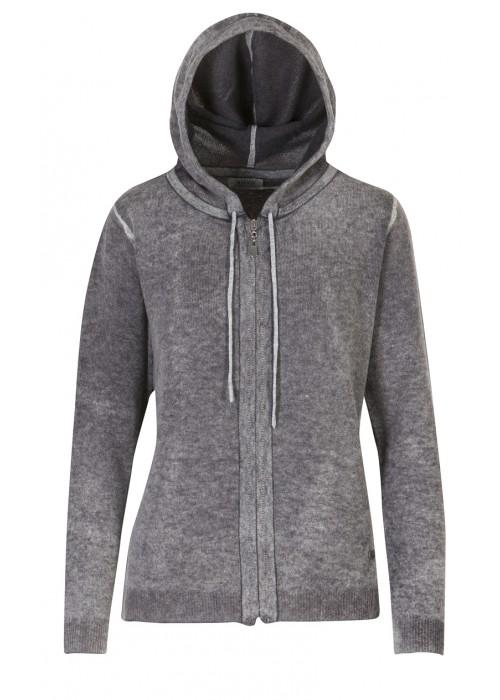 Malvin - 100% Woollen Cardigan With Hood