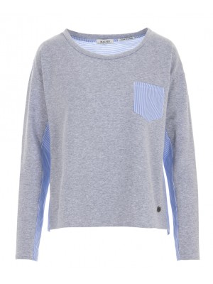 Malvin - 100% Cotton Grey Pullover