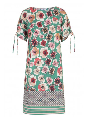 Caliban - 100% Cotton Floral Printed Box Dress