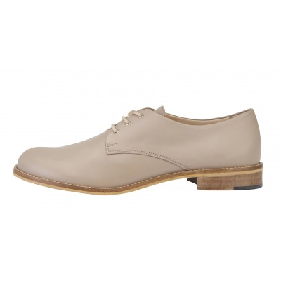 Vincenzo Ferrara - Classic Leather Brogue In Taupe