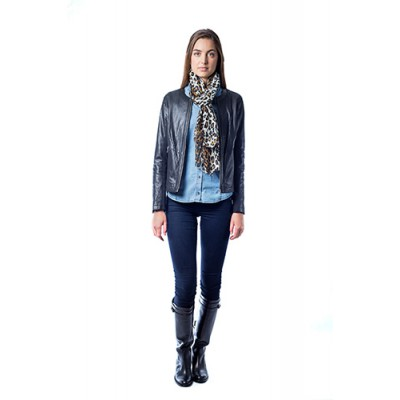 Malvin - Perforated Leather Jacket