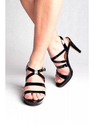Fratelli Rossetti - Patent Leather Strappy Sandal