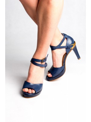 Fratelli Rossetti - Peep Toe Sandal With Ankle Tie