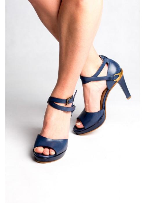 Fratelli Rossetti - Peep Toe Sandal With Ankle Tie